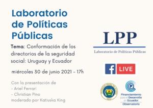 laboratorio LPP junio 2021